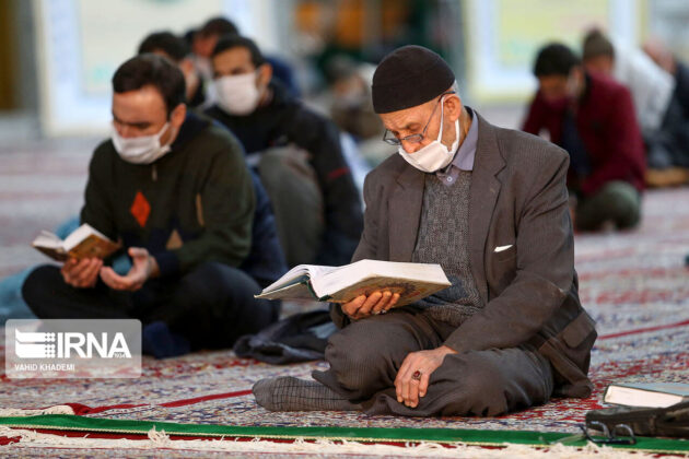Iranians Attend 'Qadr Night' Rituals While Observing Health Protocols 4