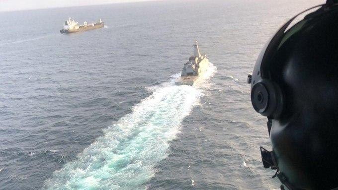 Primeiro petroleiro do Irã na Venezuela a fornecer gasolina muito necessária 3