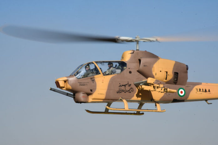 Iran Has Most Powerful Chopper Fleet in West Asia