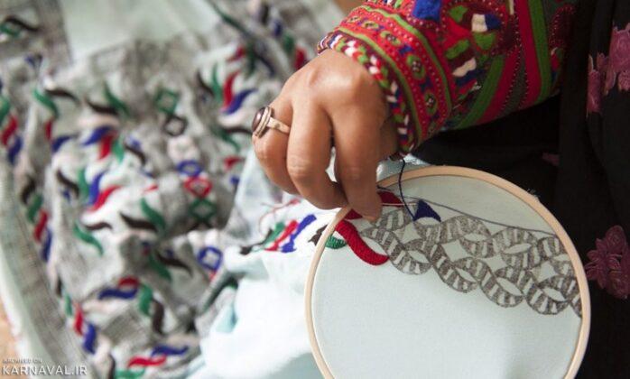 Traditional Sewing in Qeshm Island 2