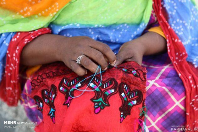 Traditional Sewing in Qeshm Island