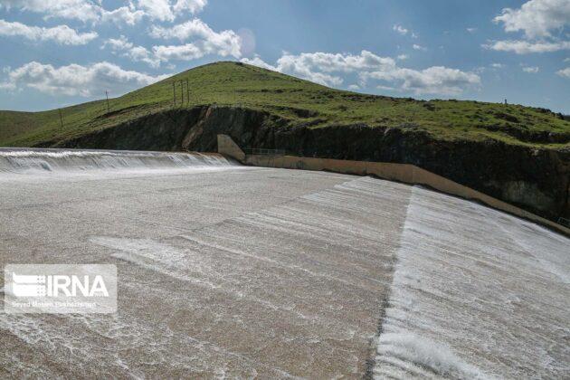 Vahdat Dam in Iran's Kurdistan