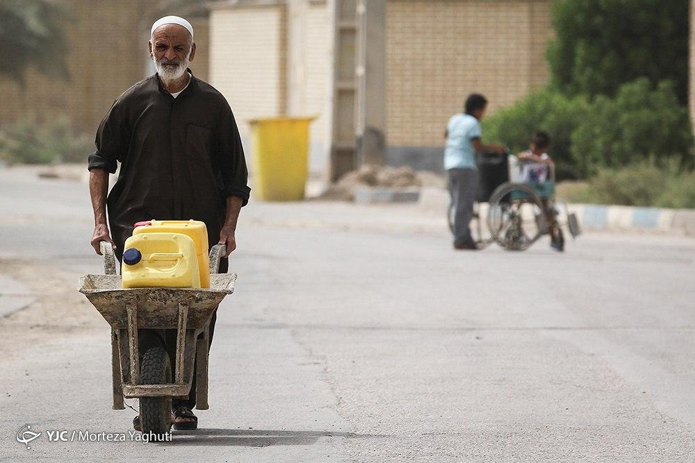Water crisis in southern Iran