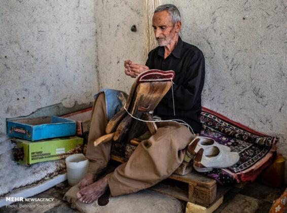 Giveh Sewing in Arak, Iran