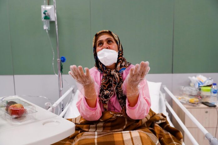 Iran Says 300,000 COVID-19 Patients Have Recovered