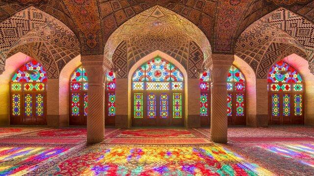 US Magazine Asvises Tourists to Visit Iran's Pink Mosque