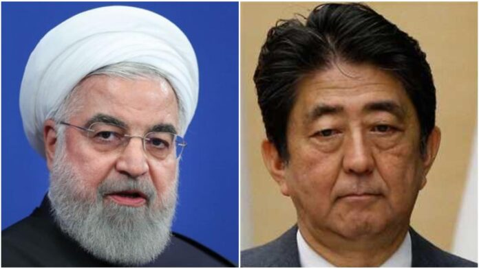 Iranian President, Japanese PM Discuss Regional Tensions