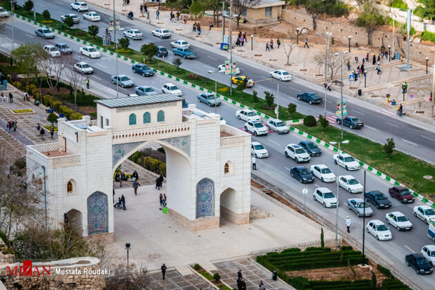 Qur'an Gate, Shiraz, Iran