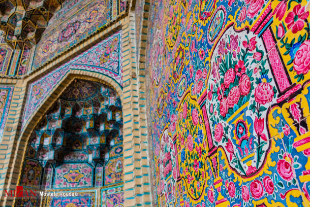 Nasir al-Mulk or Pink Mosque, Shiraz
