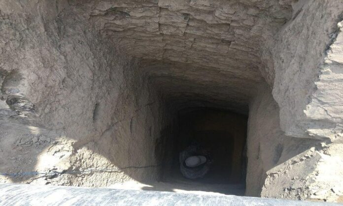 Ancient Stone Well Discovered in Isfahan Hills
