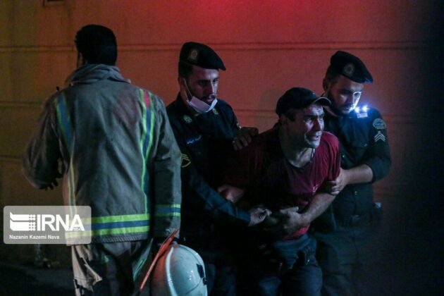 Fire in Tehran Clinic Kills 19, Wounds 11 1