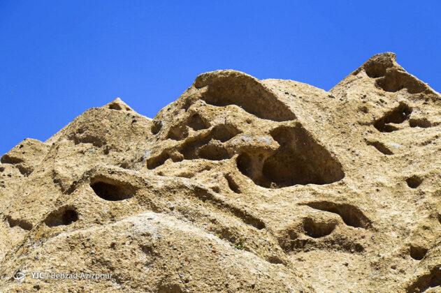Hilevar Rock Village; A Survivor of Mongol Invasion of Iran 4