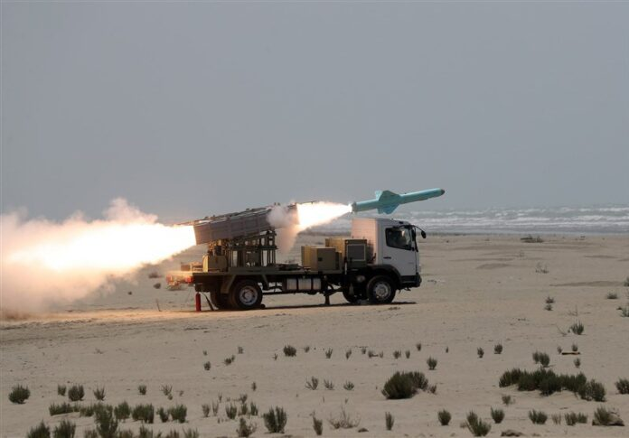 Iranian Navy Fires New Long-Range Cruise Missiles in Combat Drill