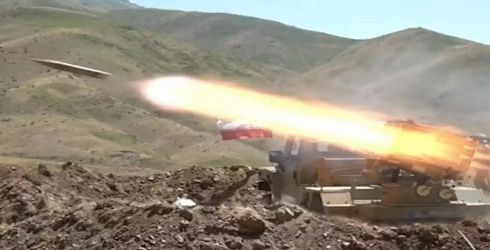 Kurdish-Majority Areas in NW Iran Purged of Terrorists in Military Drills 66