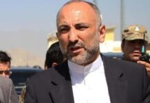 Top Afghan Diplomat to Visit Iran on June 21