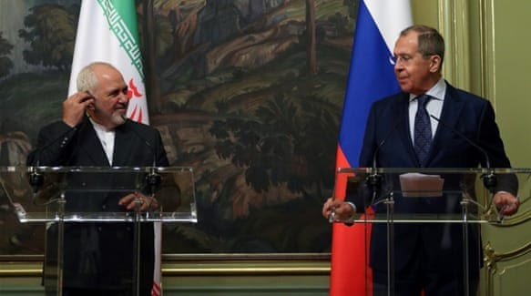 Iran, Russia Issue Declaration on Promotion of Int'l Law