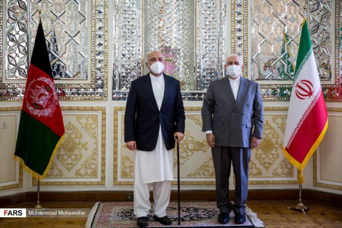 Iranian, Afghan Top Diplomats Hold Talks in Tehran