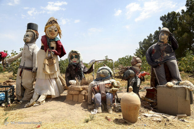 Iranian Woman Turns Farmland into Doll Exhibition