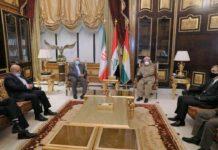 Barzani Says Kurdistan Won't Turn into Staging Ground for Attacking Iran