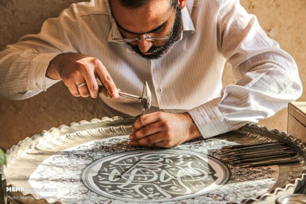 Engraving Art ; Unique Manifestation of Iranian Culture, History 4