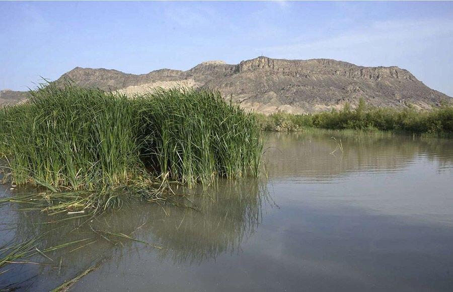 Hamun Lake, southeastern Iran