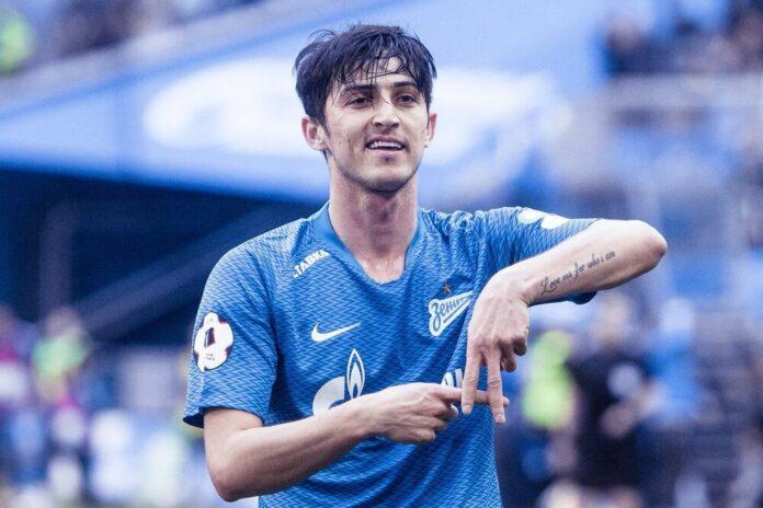 Sardar Azmoun Named Top Goal Scorer of Russian Football League