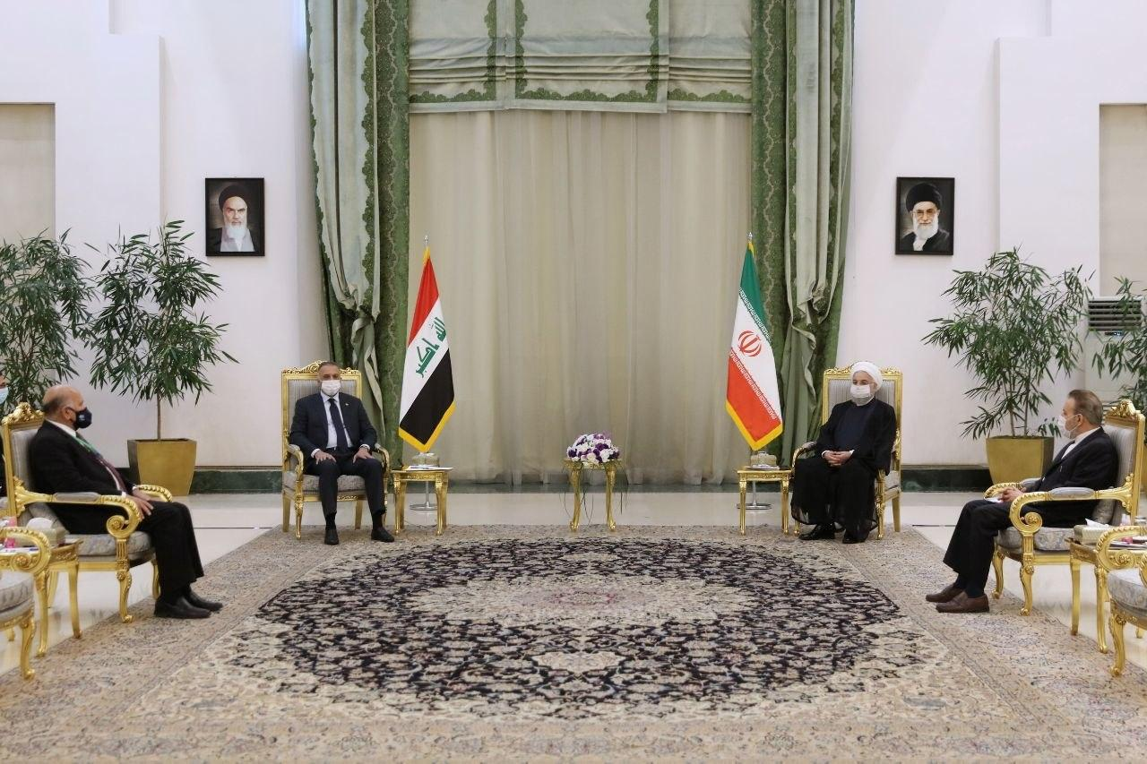 Iran President Officially Welcomes Iraqi PM in Tehran 2