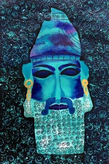 Iranian Artist Advances to Finals in UNESCO Painting Contests 2