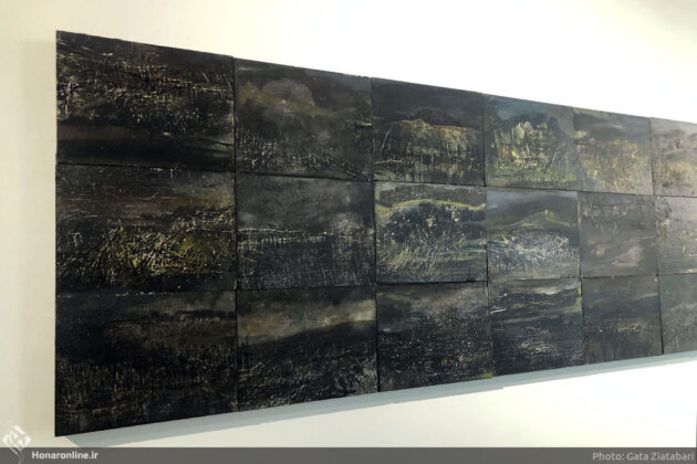 Iranian Artist Depicts Human Impact on Environment 4