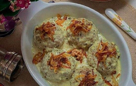 Isfahani Whey Meatball A Yummy Iranian Food 1