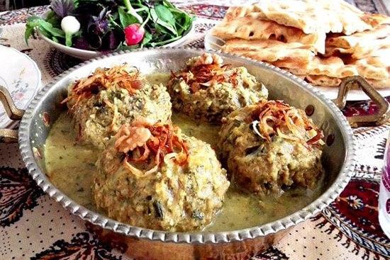 Isfahani Whey Meatball A Yummy Iranian Food 2