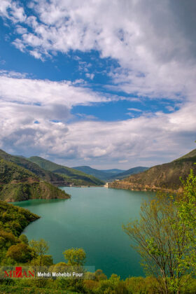 Shahid Rajaei Dam in Mazandaran 1