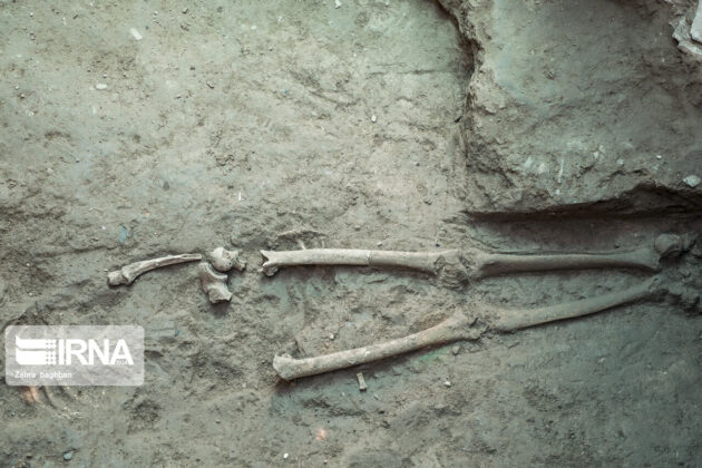 Skeleton of Parthian Woman Unearthed in Central Iran 2