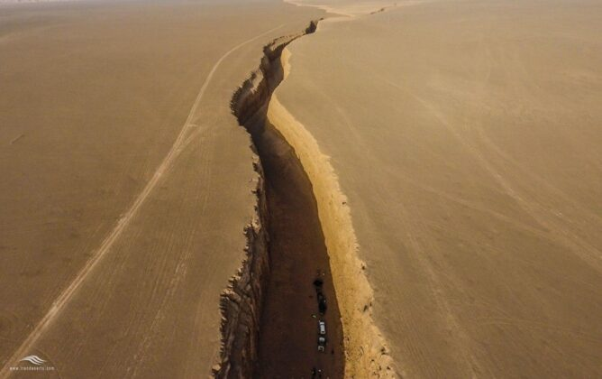 Snake Tongue Canyon; Bizarre Attraction in Iran's Lut Desert 4
