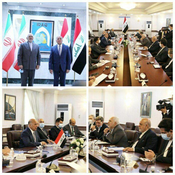 Top Iranian, Iraqi Diplomats Hold Talks in Baghdad