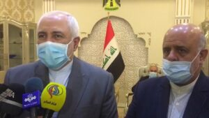 Zarif in Baghdad to Discuss Regional Cooperation, US Crimes with Iraqis