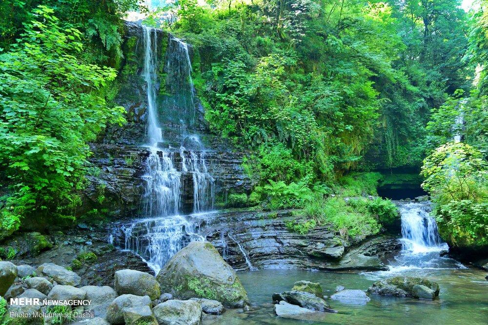 Zomorrod Waterfall