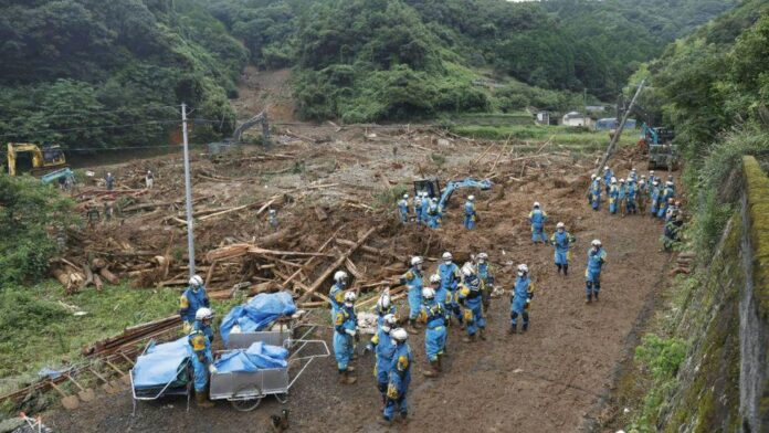 Iran Sympathizes with Japan over Deadly Flood, Landslide