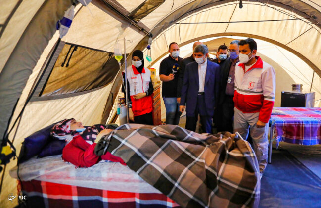 Iran's Red Crescent Erects Field Hospital in Lebanon
