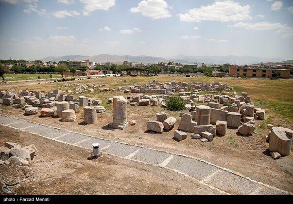 Ancient Temple of Anahita 1