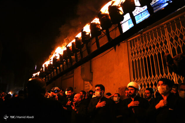 Torch-Carrying Muharram Tradition Observed in Qom
