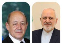 Iranian, French FMs Discuss Lebanon Crisis, JCPOA