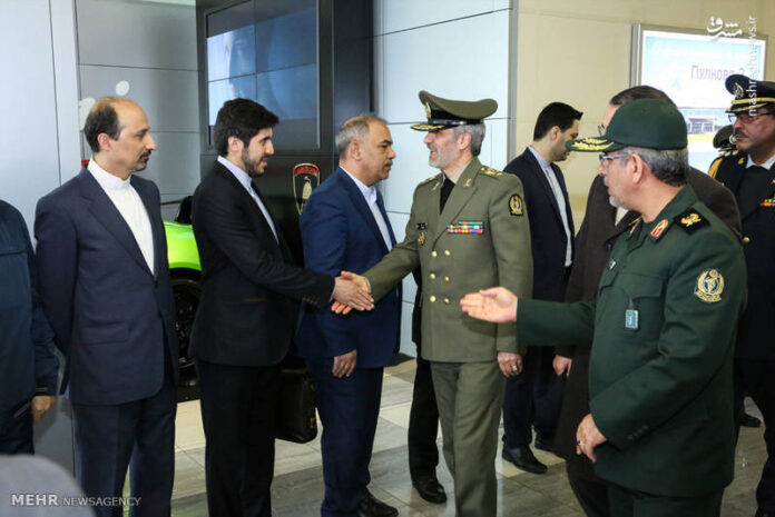 Iran's DM Arrives in Russia for Military Expo, Defence Talks
