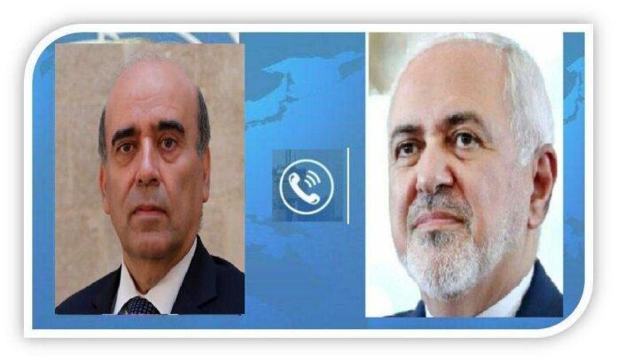 Iran FM Condoles with Lebanon over Deadly Explosion