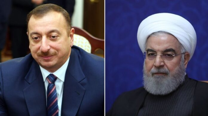 Iranian, Azeri Presidents Discuss Boosting All-Out Ties