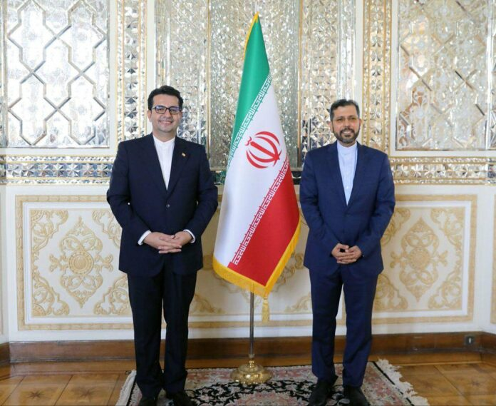 Iran's Foreign Ministry Picks Khatibzadeh as New Spokesperson