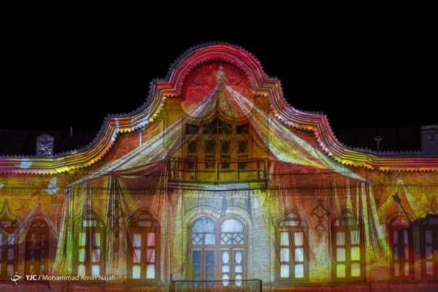 Iran's Hamadan Hosts 3D Lighting Performance on Ashura 5