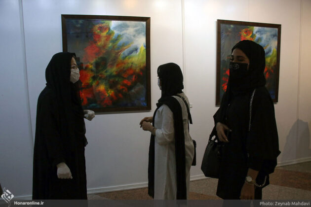 Tehran's Milad Tower Hosts 'Birth of Peace' Group Exhibition 5