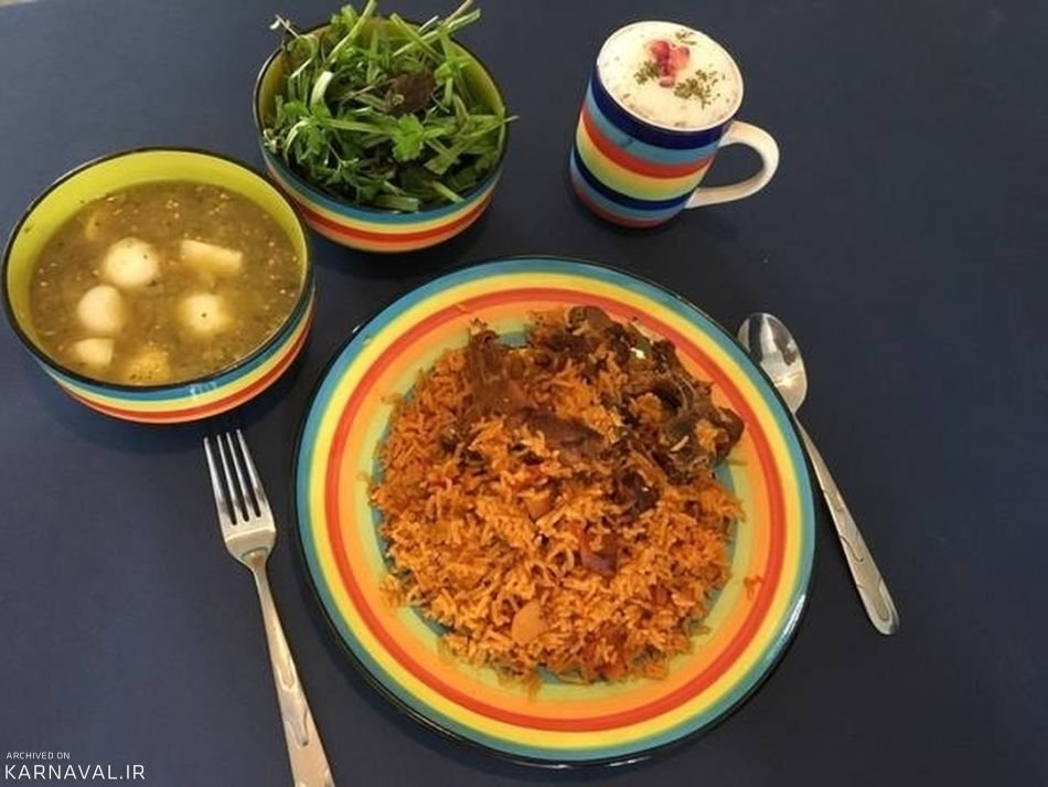 Bandar Torkaman food
