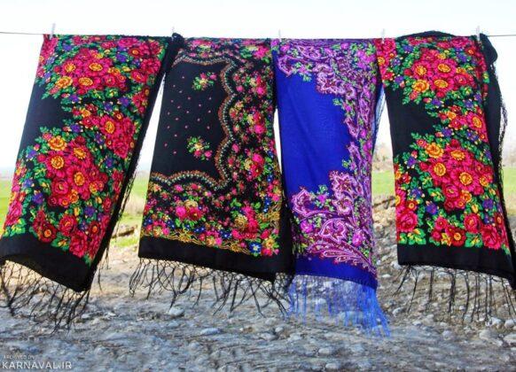 Bandar Torkaman scarves